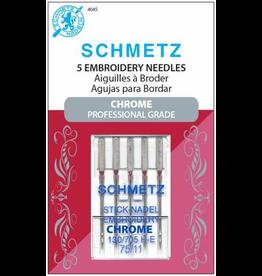 Schmetz Chrome Embroidery Needle Size 75/11