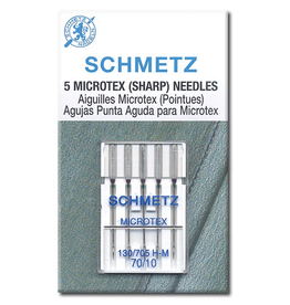 Schmetz Sharp/Microtex Machine Needle Size 70/10