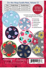 In-the-Hoop Candle Mats: Holidays & Seasons, Volume 1 CD