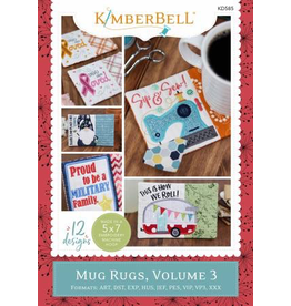 Kimberbell Holiday & Seasonal Mug Rugs, Volume 3