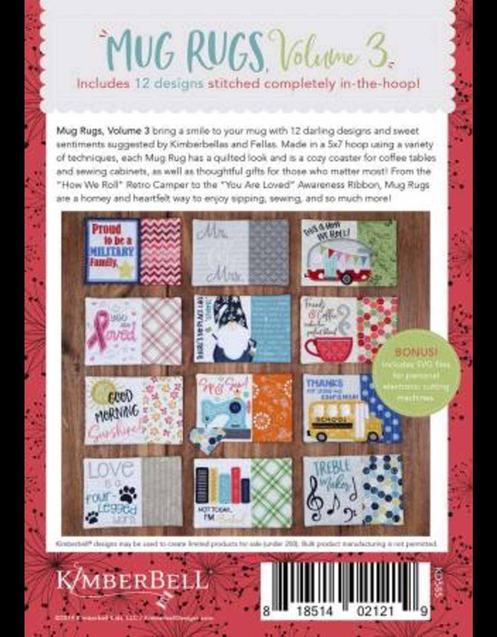 Kimberbell Holiday & Seasonal Mug Rugs, Volume 3