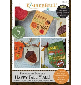 Pennants & Banners - Happy Fall Y'All