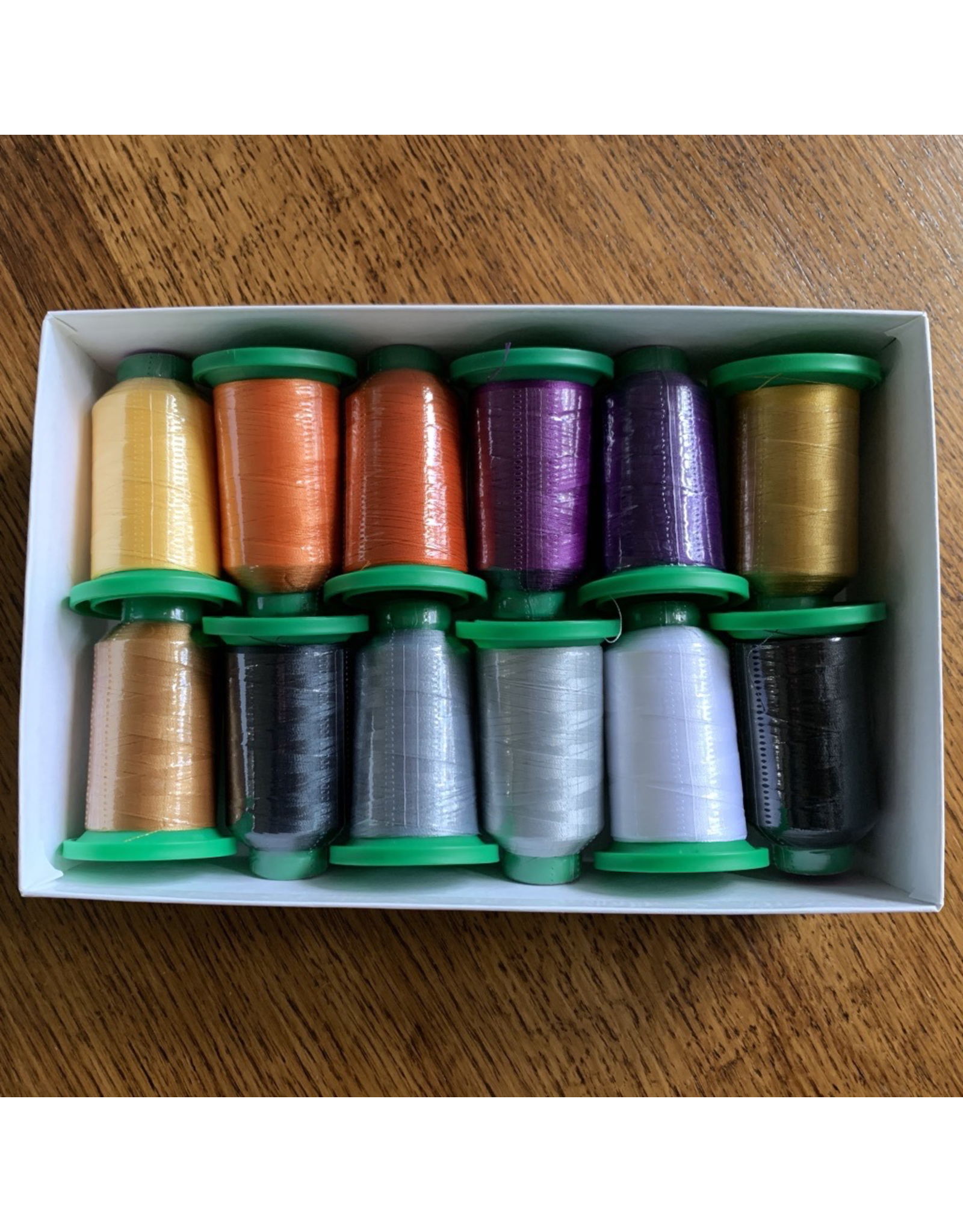 Isacord Thread Set Twilight Boo-levard - 12 spools & Schmetz Needles