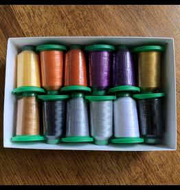 Isacord Thread Set Twilight Boo-levard - 12 spools & Schmetz Needles