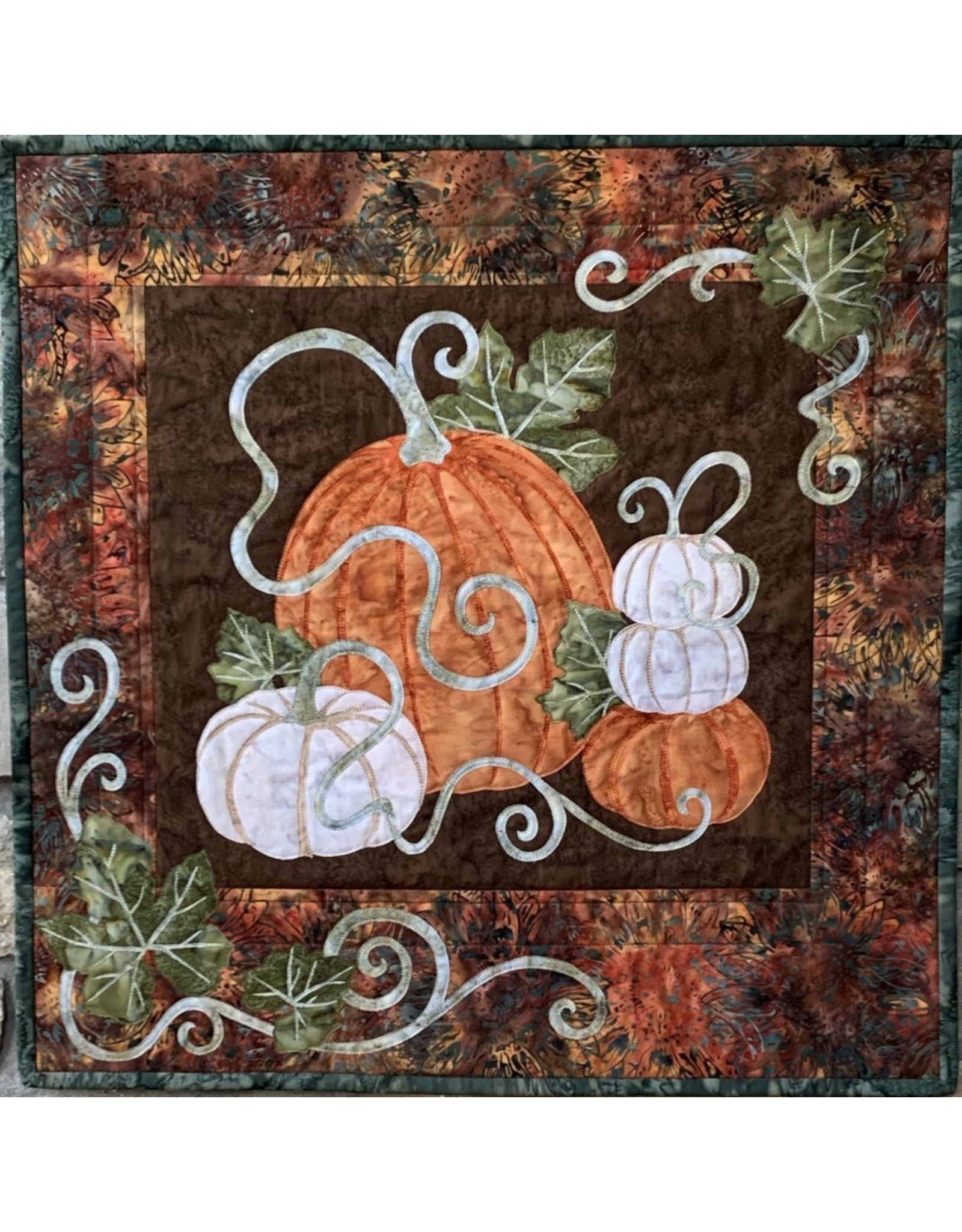 Pumpkin Patch Kit with Backing