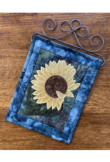 Bloomin'Mats Fabric Kit & Applique Embroidery CD