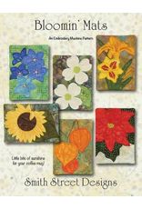 Bloomin' Mats Fabric Kit & Applique Embroidery CD