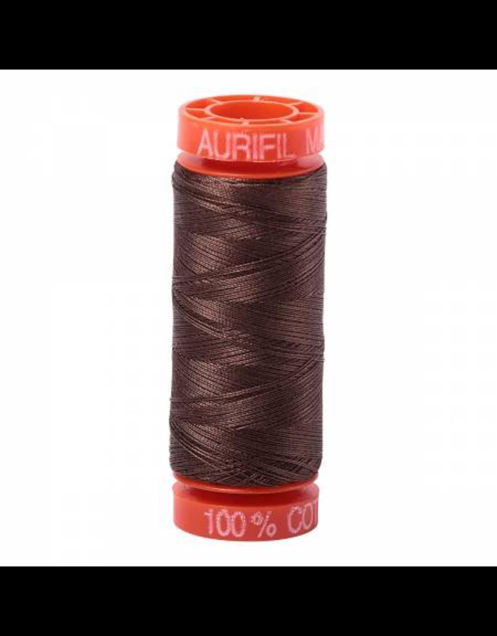 Aurifil Cotton Thread 50 wt 220 yd Bark