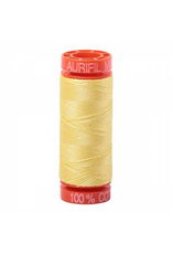 Aurifil Cotton Thread 50 wt 220 yd Lemon