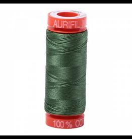 Aurifil Cotton Thread 50 wt 220 yd Dark Grass Green