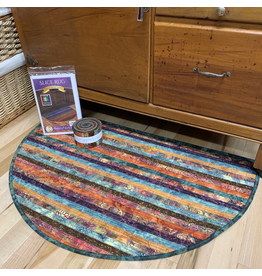 Batik Jelly-Roll Rug Kit (Slice #5)