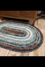 Batik Jelly-Roll Rug Kit (Oval #3)