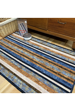 Batik Jelly-Roll Rug Kit (Square #4)