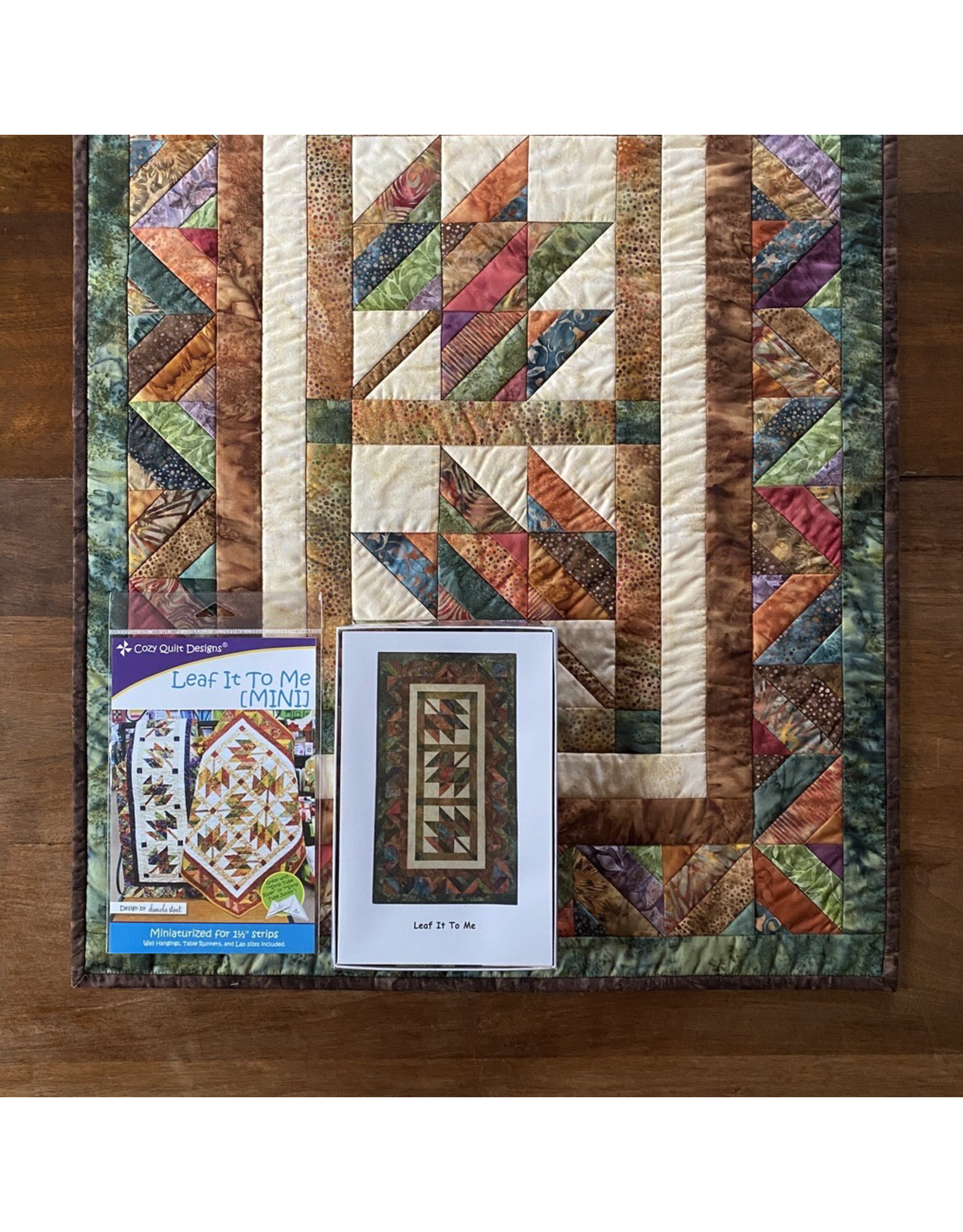 Leaf It To Me Table Runner Kit