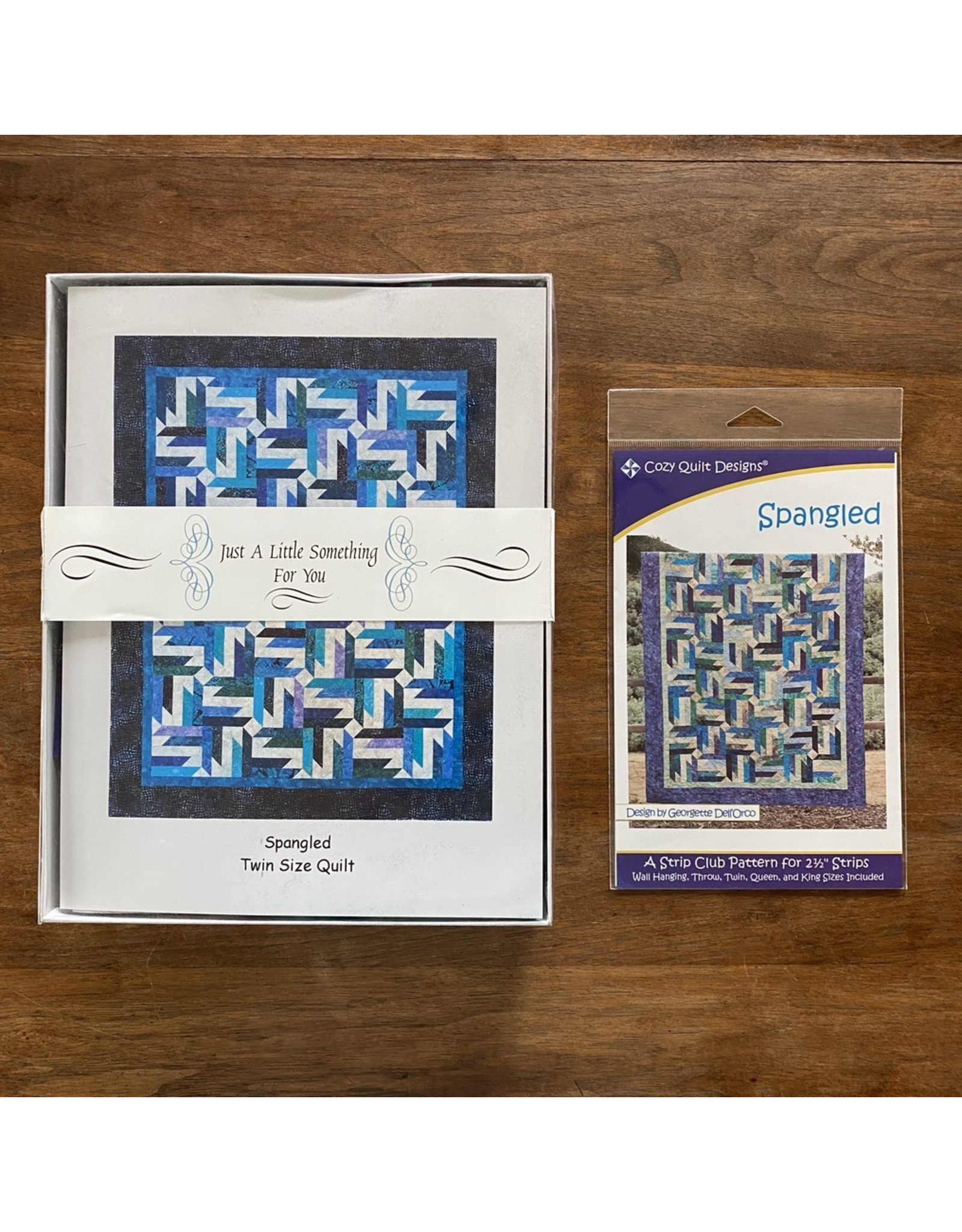 Spangled Twin Quilt Kit