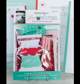 Love Notes Embellishment Kit