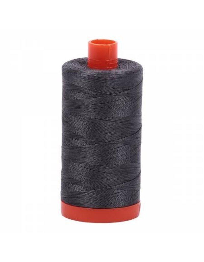Aurifil Cotton Thread 50 wt 1422 yards Pewter