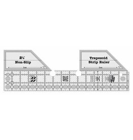 Creative Grids Trapezoid Strip Quilt Ruler