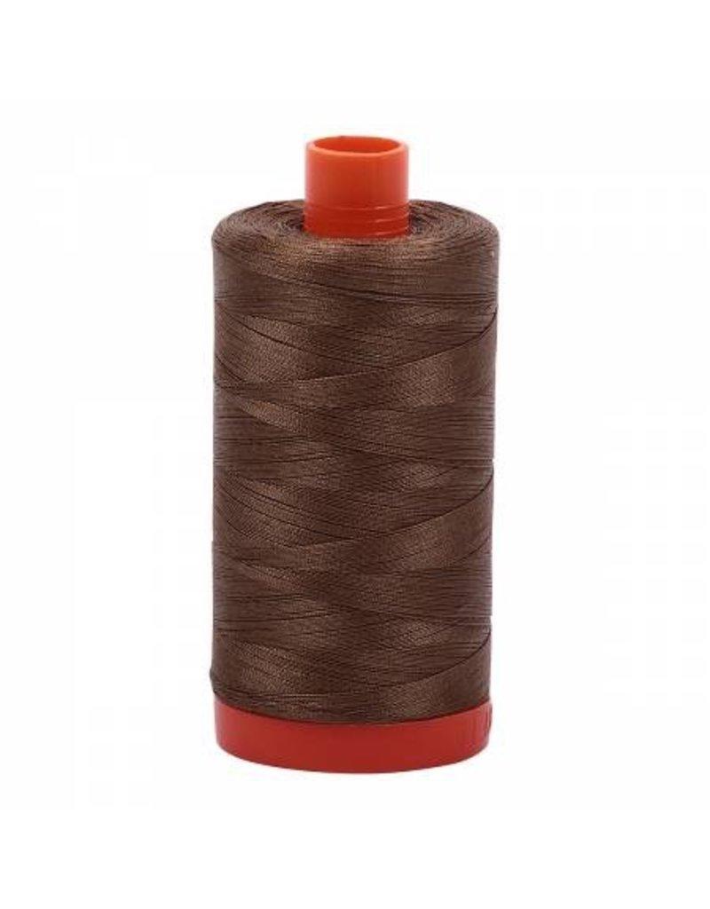 Aurifil Cotton Thread 50 wt 1422 yards Dark Sandstone