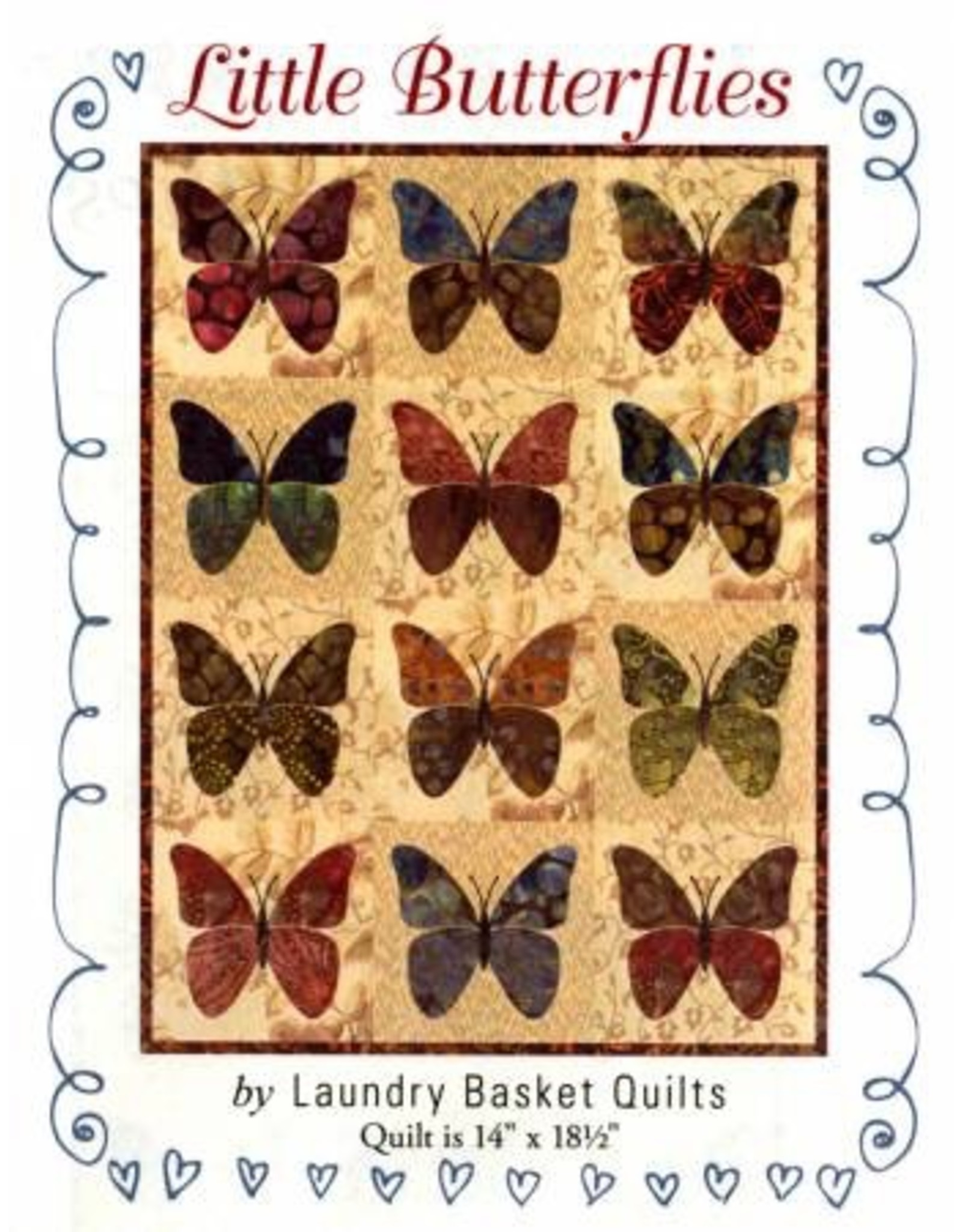 Little Butterflies Pattern