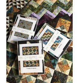 Exploring Batiks Complete Set of Nine Kits and Pattern