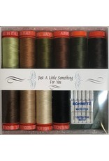 Aurifil Thread Set Sweet Hearts - 10 Spools & Schmetz Needles