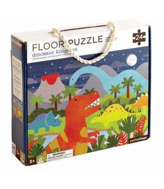 PetitCollage Dinosaur Kingdom Floor Puzzle