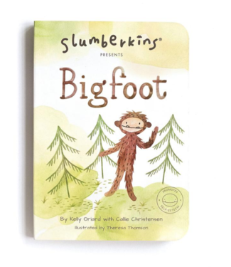 Slumberkins Big Foot Board Book