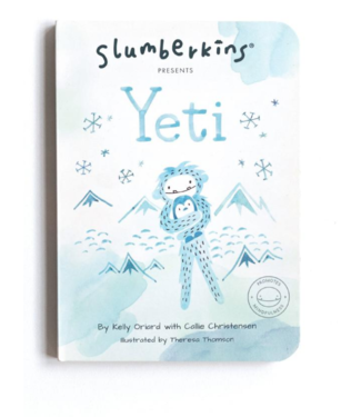 Slumberkins Yeti Board Book