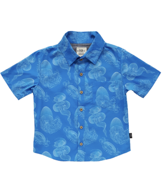 Feather 4 Arrow Jellyfish Button Down