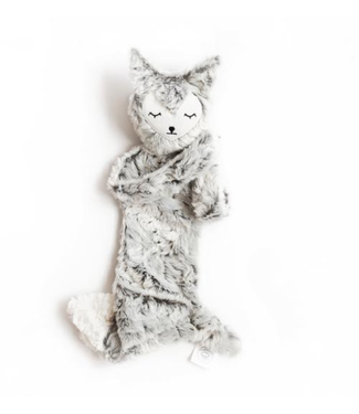 Slumberkins Fox Snuggler Grey Silkin