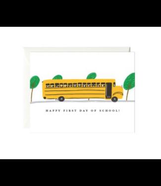 Paula & Waffle School Bus