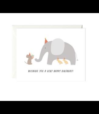 Paula & Waffle Mouse & Elephant