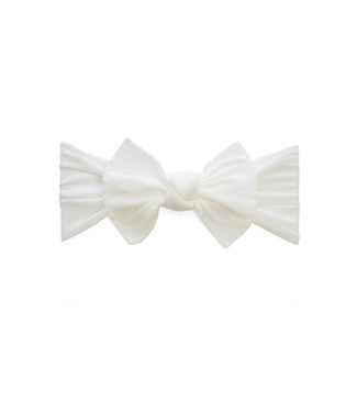 Baby Bling Itty Bitty Knot White