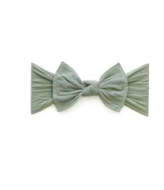 Baby Bling Knot Bow Headband Sage