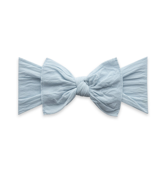 Baby Bling Knot Bow Headband Chambray
