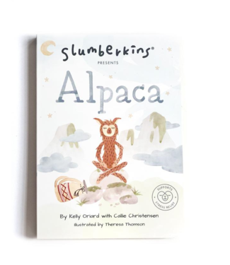 Slumberkins Alpaca Book-Stress Relief