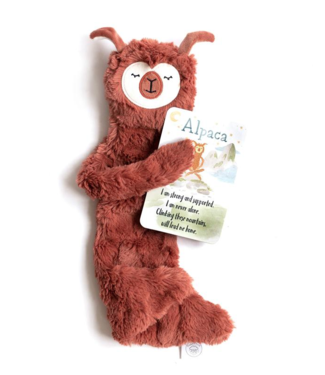 Slumberkins Alpaca Snuggler Bundle Copper