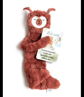 Slumberkins Alpaca Snuggler Silken Copper