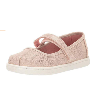 Toms Mary Jane Rose Gold Irra Droplets