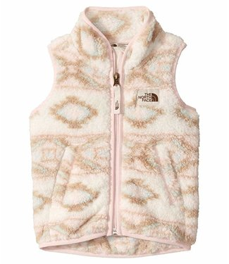 The North Face Campshire Vest Pink & White Tribal