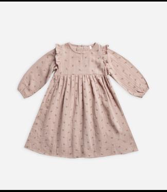 Rylee + Cru Leaf Embroidered Piper Dress