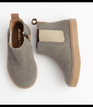 Grey Suede Chelsea Boot Sneaker