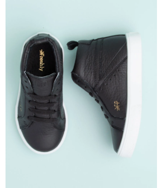 Hi Top Sneaker Ebony