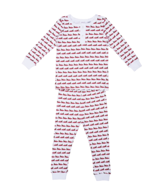 Lila and Hayes Jack Red Pickup with Tree Pajamas