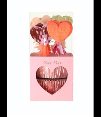 Pinata Hearts Cupcake Kit