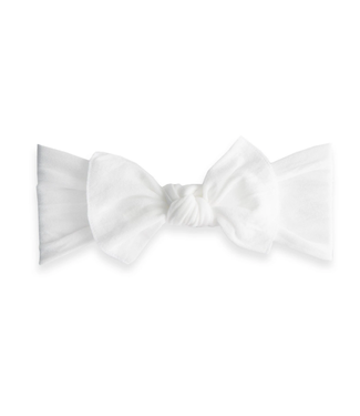 Baby Bling Knot: White