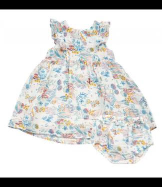 Angel Dear Crane Ruffle Dress