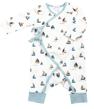 Angel Dear Simple Boats Wrap Coverall
