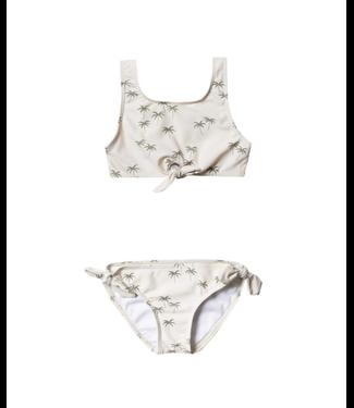 Rylee + Cru Palm Knotted Bikini